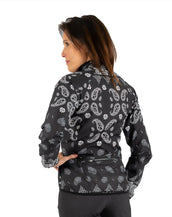 Kerchief Veneer Jacket