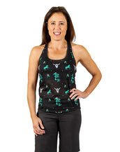 Happy Trails Bella Goat Tank