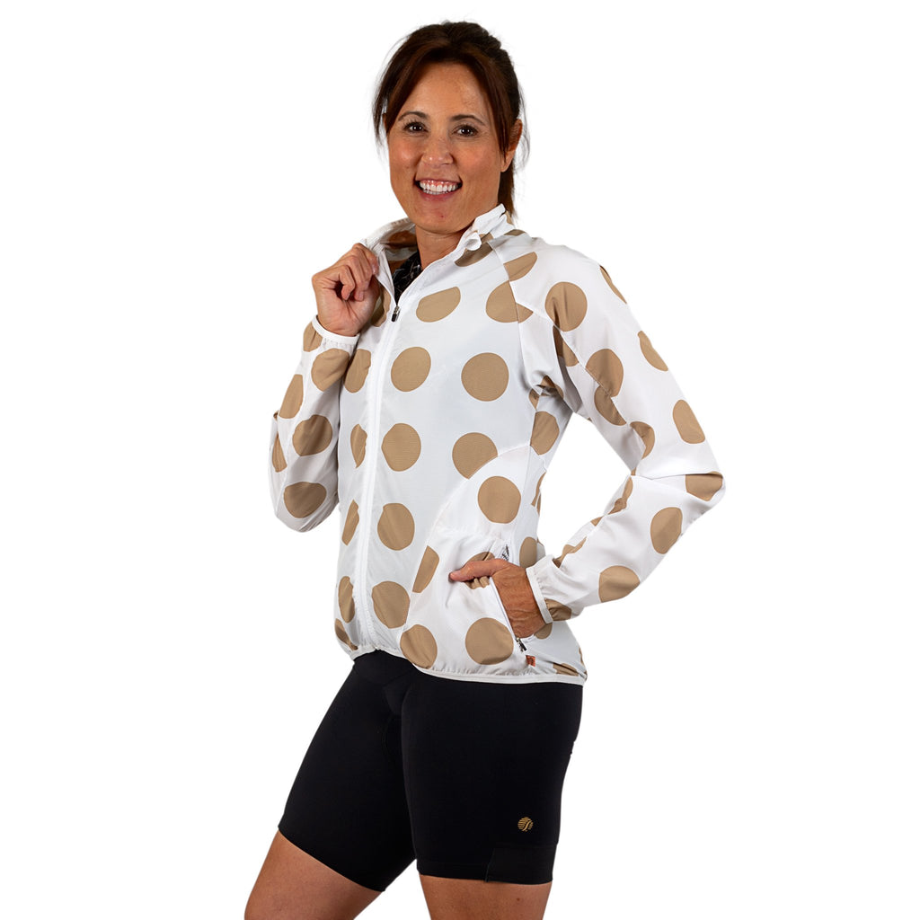 Polka Dot Veneer Jacket