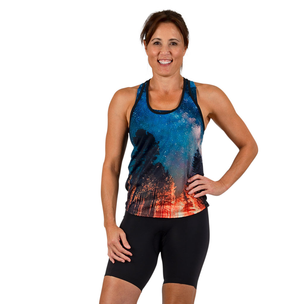 Summer Nights Burn Tank PLUS