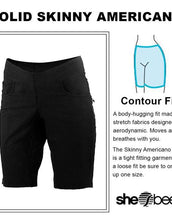 Skinny Americano Short PLUS