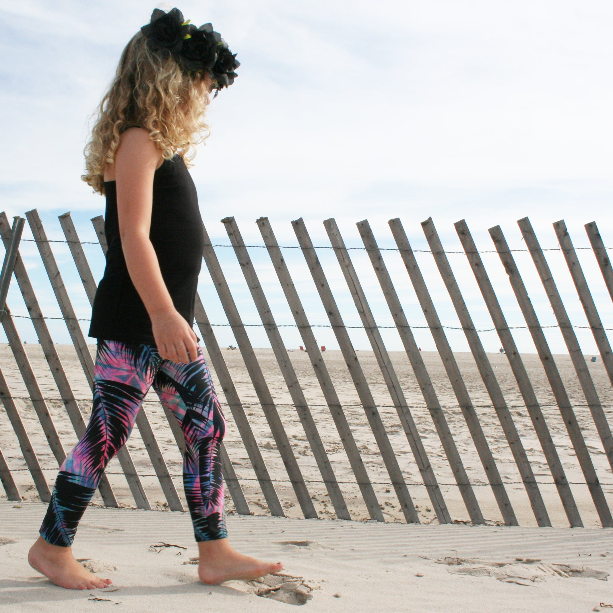 Maui Palm Kid Legging