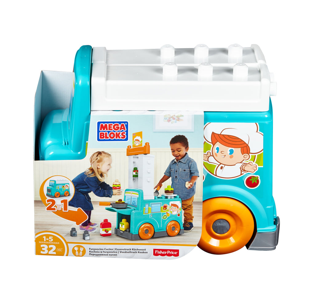 Fisher Price Megablocks 2 in 1 Food Truck Kitchen