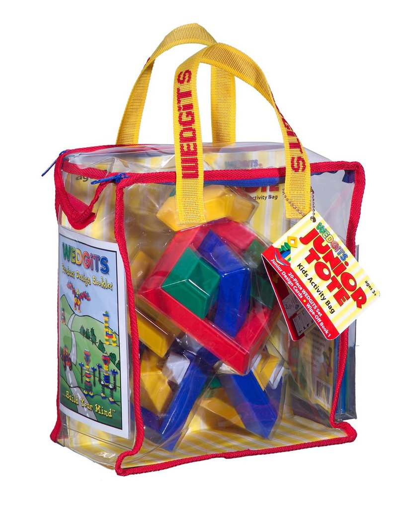 Wedgits Starter Activity Tote by WEDGiTS