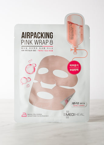 Air Packing Mask Pink Wrap