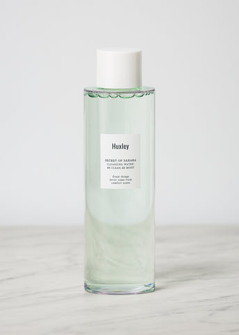 Huxley Cleansing Water; Be Clean, Be Moist