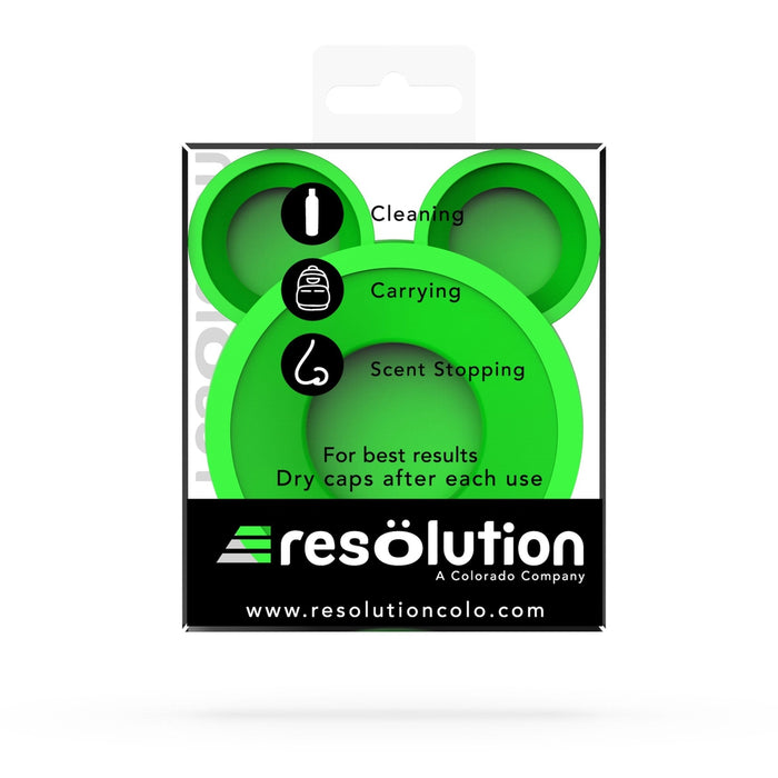 RES CAPS® Bong Cleaning Caps - Green