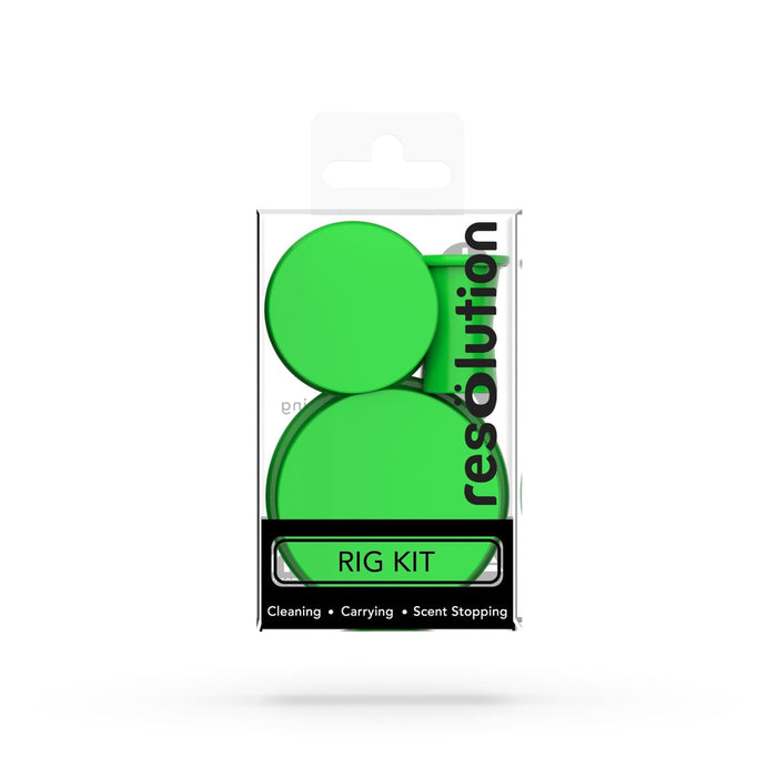RIG KIT CAPS® Bong Cleaning Caps - Green