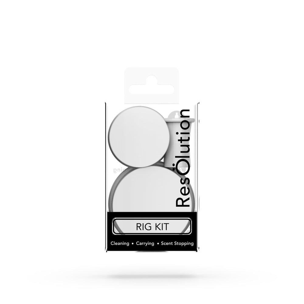 RIG KIT CAPS® Bong Cleaning Caps - White