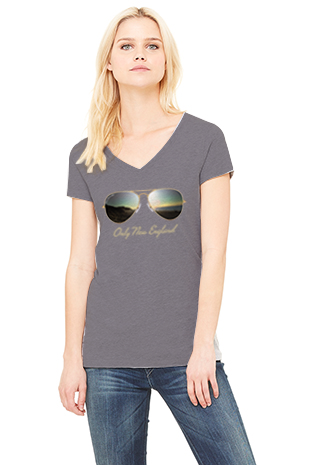 Nantucket Sunset Women's V-neck