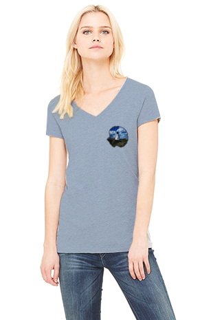 Mini Saquish Shell Women's V-neck