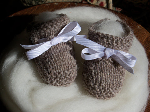 Handknit Babies Breath Booties ~ $29