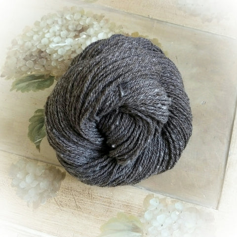 Woodlily ~ Corriedale, Cormo, Angora Blend 150 yds. Worsted