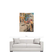 WAITING Premium Canvas Gallery Wrap