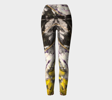 FIRE n ICE Yoga Pants/ Marble Swirl