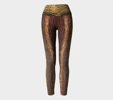 FIRE N ICE Yoga Pants/ Metal Phase