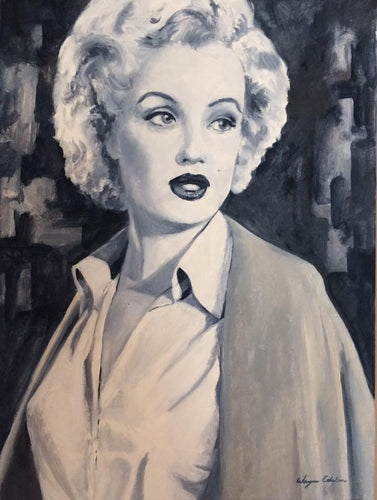 Marilyn Monroe Original Oil 18x24