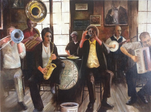 Preservation Hall Original Oil 30x40