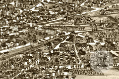 Saratoga Springs, NY Historical Map - 1888