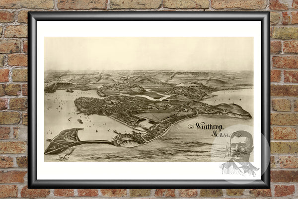 Winthrop, MA Historical Map - 1894