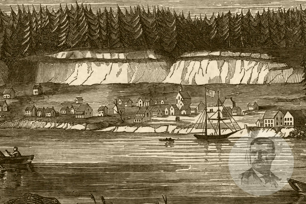 Oregon City, OR Historical Map - 1880