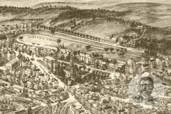 Goshen, NY Historical Map - 1922