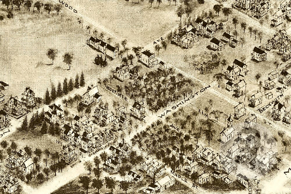 Rutherford, NJ Historical Map - 1904