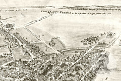 Chestertown, MD Historical Map - 1907