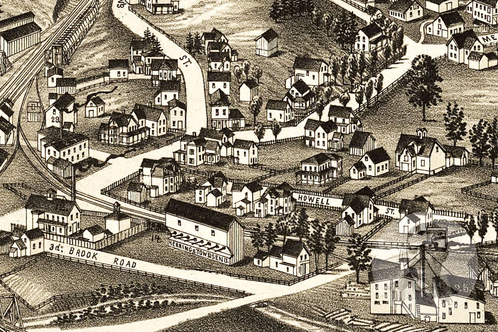 Walton, NY Historical Map - 1887