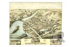 Birmingham, CT Historical Map - 1876