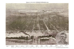 Philadelphia, PA Historical Map - 1876