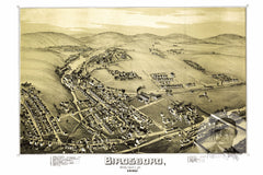 Birdsboro, PA Historical Map - 1890