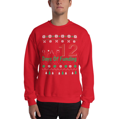 12 DAYS OF FUNDING UGLY SWEATER