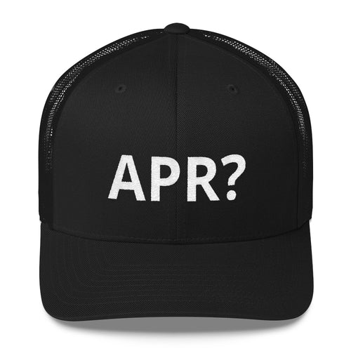 APR? TRUCKER CAP