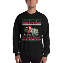 """SANTAS HELPERS"" UGLY SWEATER"