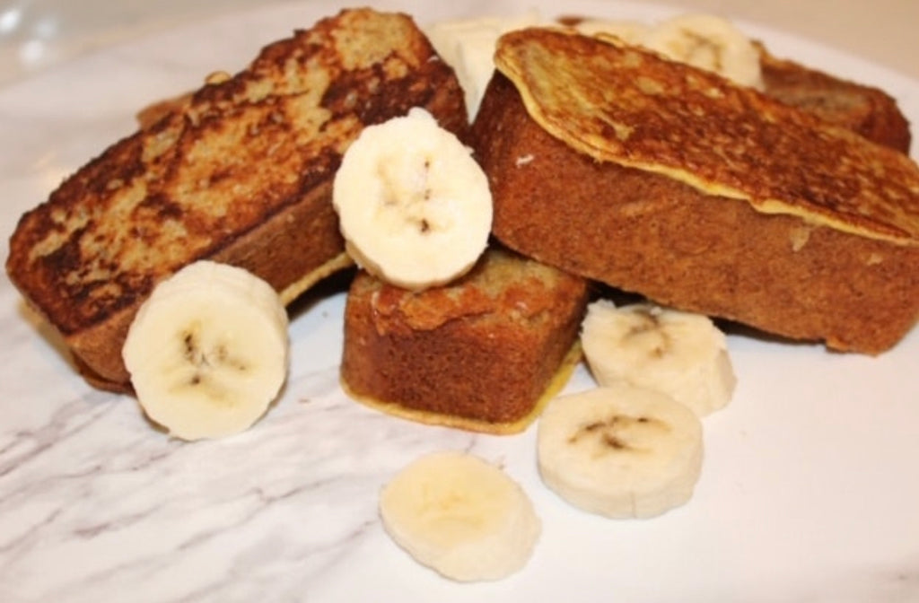 BamBody Banana Bread French Toast