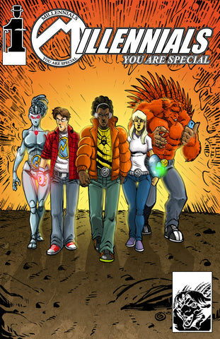 Millennials Issue 1: You Are Special - Anyone Comics