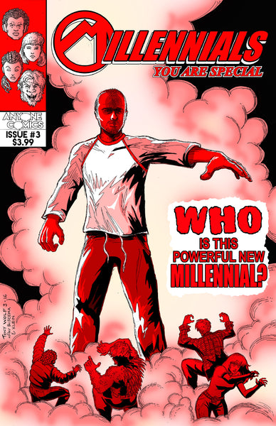 Millennials Issue 3: Unlimited Potential - Anyone Comics