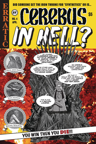 CEREBUS IN HELL #4