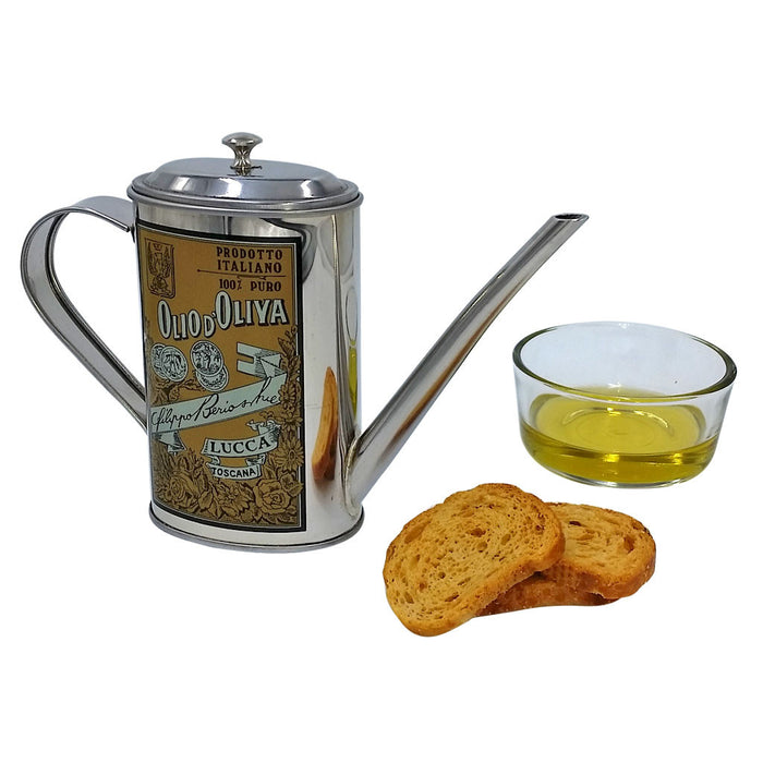 Olive Oil Can, Stainless Steel