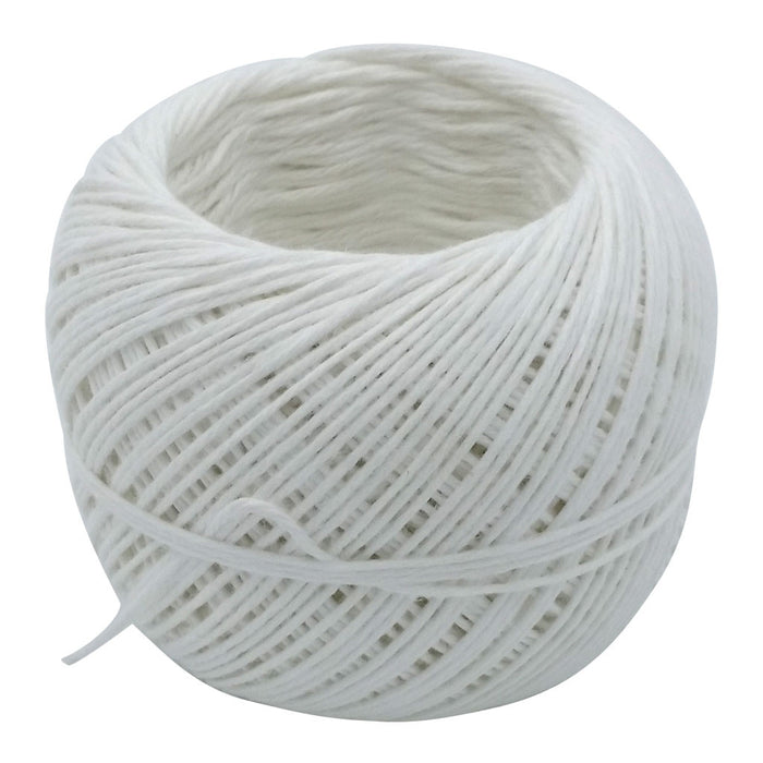 White French Linen Twine in Cutter Dispenser