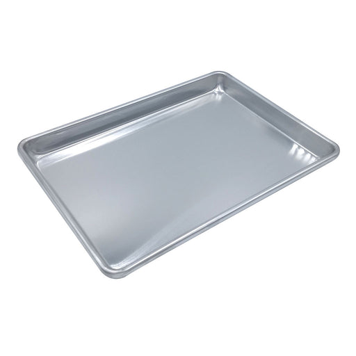 Image of SKU 2048 from Kitchen Supply Wholesale which is a half-sized aluminum sheet pan that measures 18 X 13 inches.