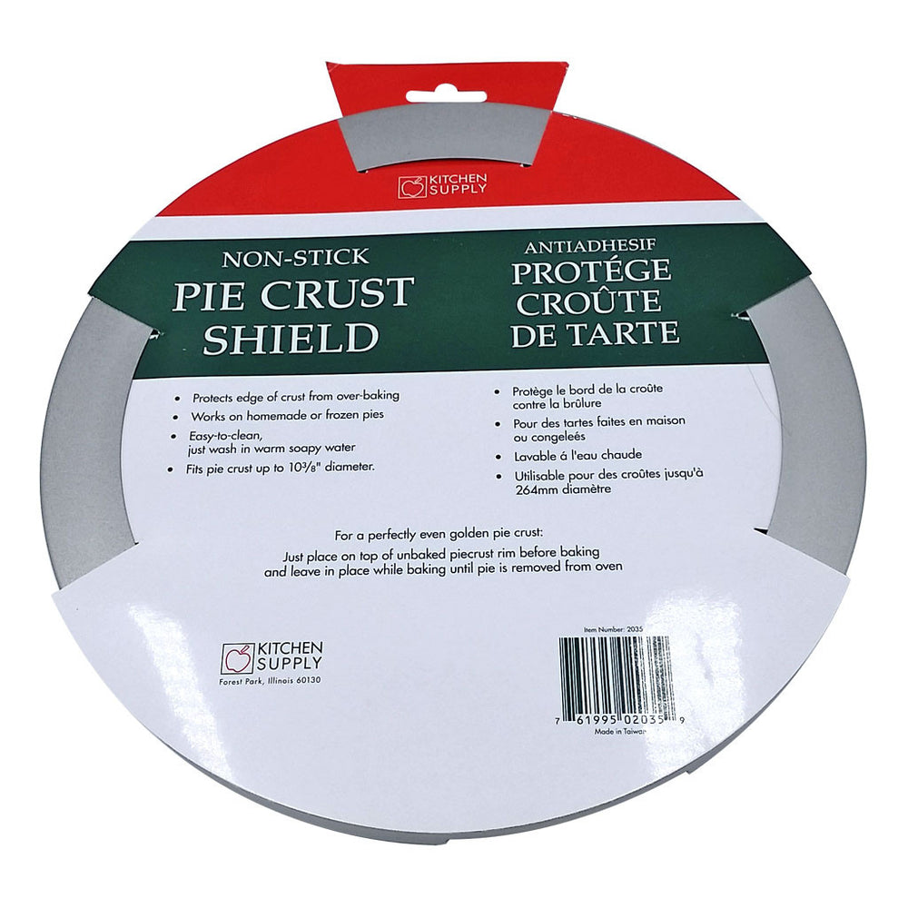 Pie Crust Shield 10 Inch, Non-stick