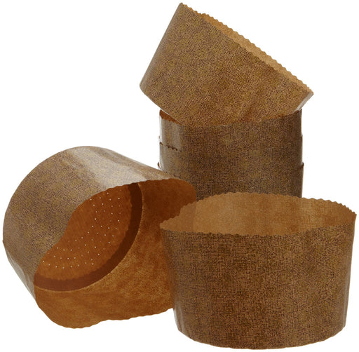 Large Panettone Paper Baking Molds, 6-Pack