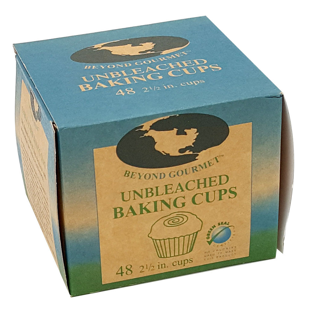 BEYOND GOURMET Natural parchment muffin cups