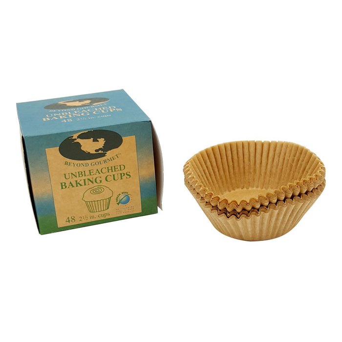 BEYOND GOURMET Natural parchment cupcake papers 48 count
