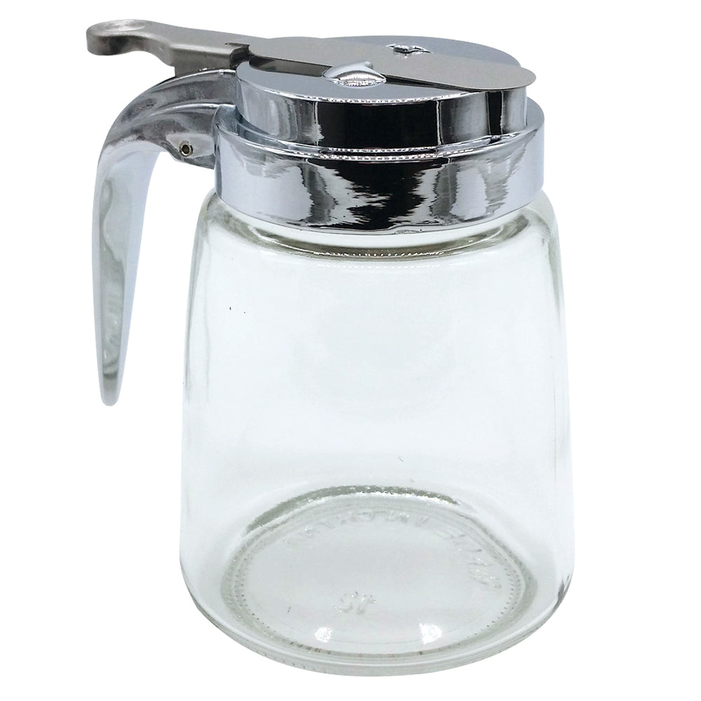 Syrup Dispenser and Pourer, Glass 8 Ounce