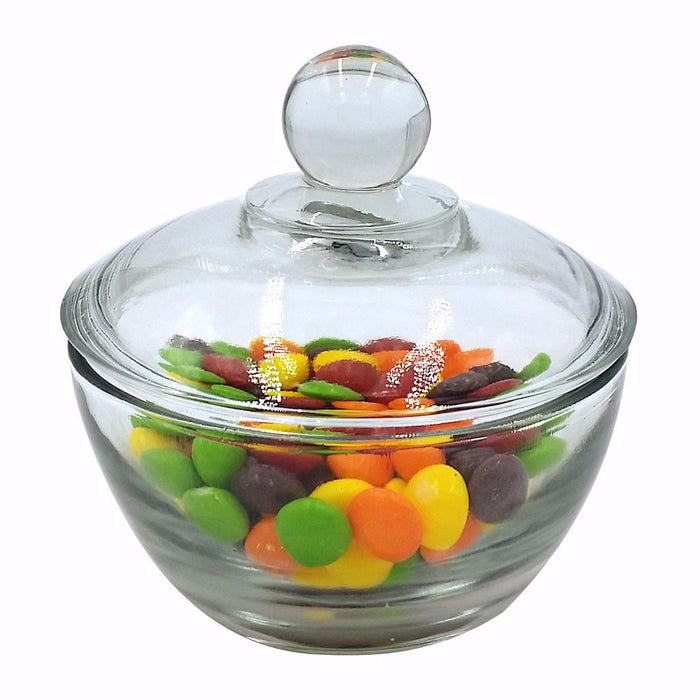 SUGAR BOWL WITH COVER 8 OUNCE