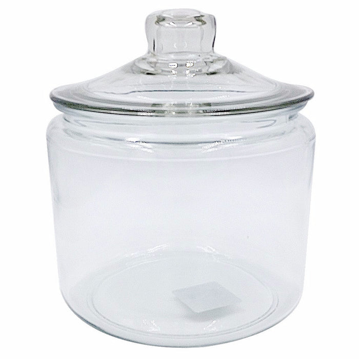 Anchor Hocking Glass Heritage Jar with Lid Half Gallon