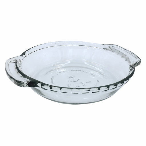Glass Mini Pie Plate, 6 Inch Diameter